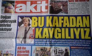 La une du Yeni Akit, le 26 mars 2018.