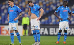 Naples a été éliminé par Grenade e n16e de finale de la Ligue Europa, le 25 février 2021.