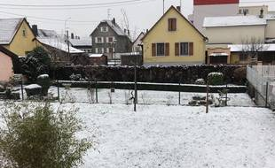 La neige n'arrête pas de tomber ce jeudi en Alsace (illustration).
