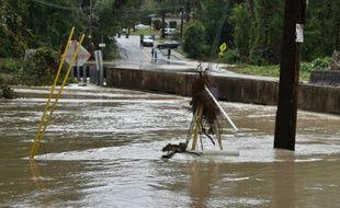 Inondations à Columbia, le 5 octobre 2015 en Caroline du Sud
