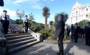 Le Premier ministre effectue un déplacement à Nice sur le thème de l'insécurité.