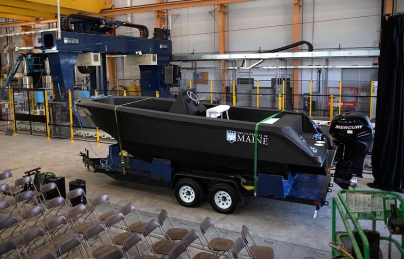 Un vrai bateau fabriqué avec une imprimante 3D en trois jours