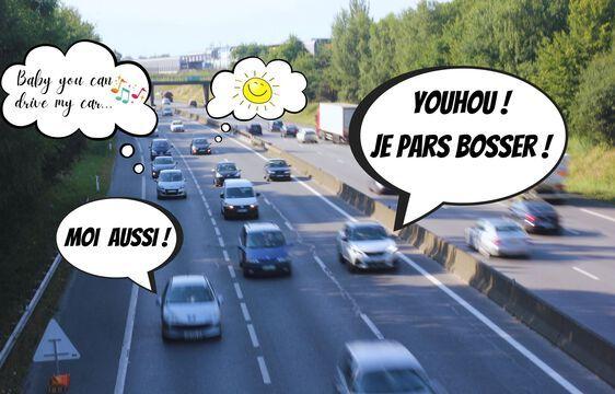 En Bretagne, des voitures à l'arrêt en raison du télétravail sont prêtées à des jeunes demandeurs d'emploi.