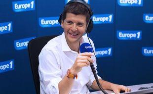 Thomas Sotto anime la matinale d'Europe 1.