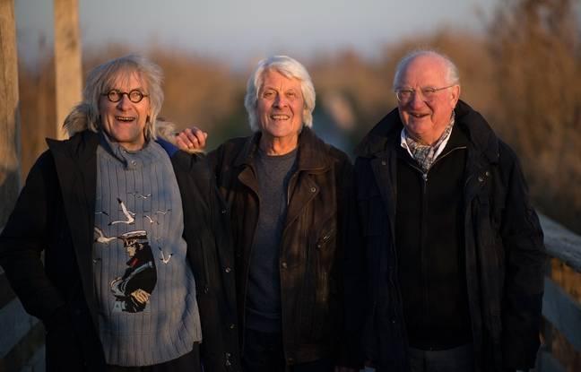 Jean-Louis Jossic, Jean Chocun et Jean-Paul Corbineau, alias les Tri Yann.