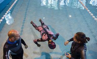 Les championnats du monde d'apnée statique de Mulhouse en 2015