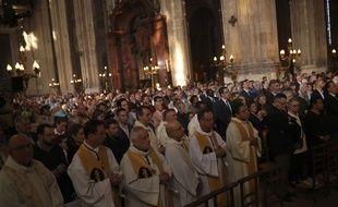 Eglise de Saint-Eurache pour le dimanche de Pâques