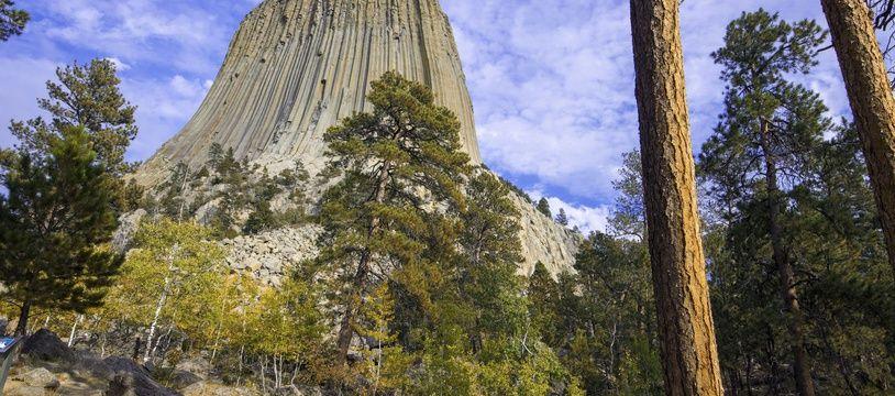 La Tour du diable, dans le Wyoming.