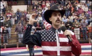 """""""Borat"""", corrosive comédie qui débusque avec brio le """"politiquement correct"""" aux Etats-Unis, numéro un au box-office américain, arrive sur les écrans français mercredi tout comme """"Le Concile de pierre"""", adapté d'un thriller fantastique de Jean-Christophe Grangé."""