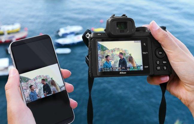 L'application Snapbridge pour transférer en quelques secondes les prises de vues réalisées dans un smartphone.