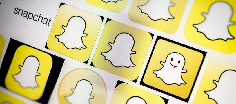 Illustration Snapchat.