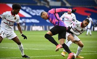 Mbappé lors de PSG-Nice, le 13 février 2021.