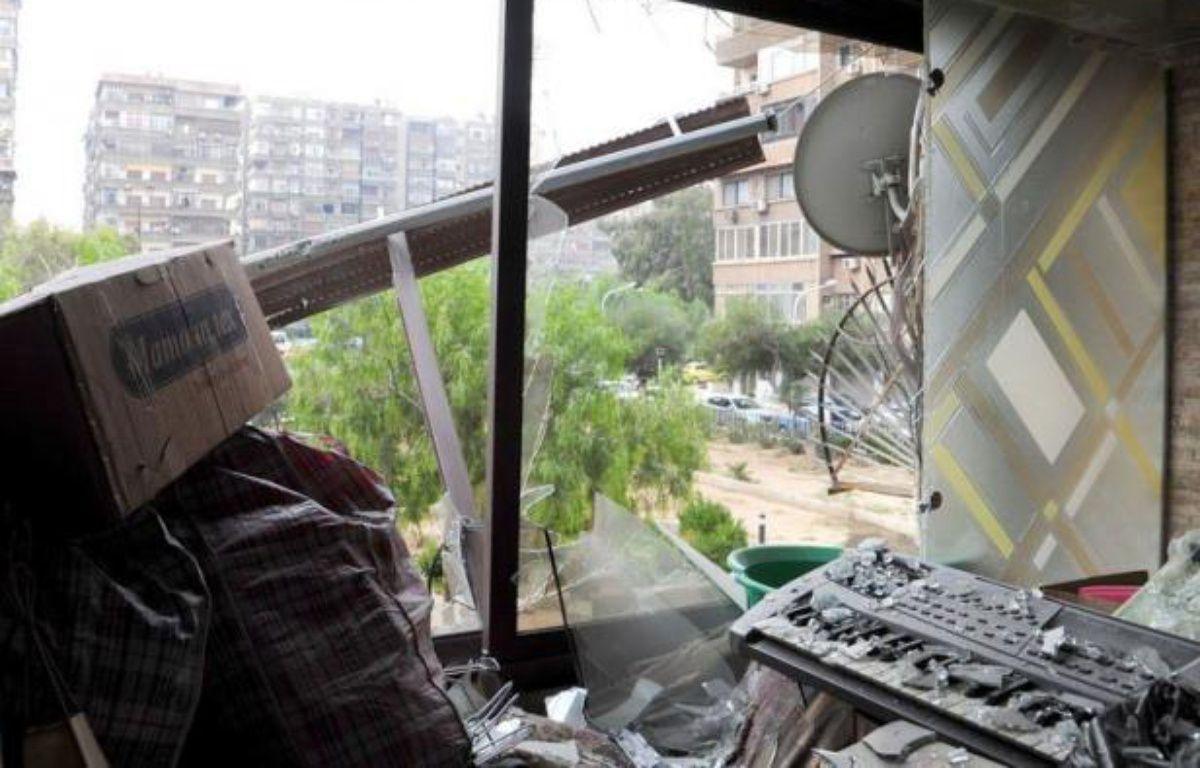 Les troupes du régime de Bachar al-Assad bombardaient vendredi plusieurs localités de la province de Damas –  afp.com