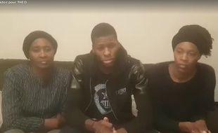 Théo est sorti de l'hôpital le 16 février et a remercié ses soutiens dans une vidéo publiée sur Facebook.