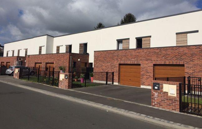 Les maisons individuelles ont remplacé les barres d'immeuble