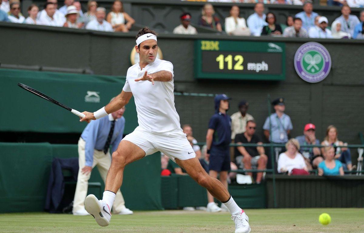 Le tennisman Roger Federer  – Sean Ryan/IPS/Shutterst/SIPA