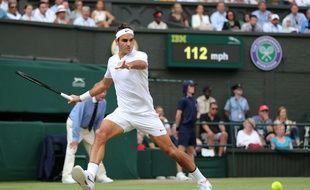 Le tennisman Roger Federer