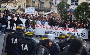 Manifestation, ce dimanche, à Montpellier.