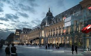Le lancement des travaux d'aménagement du Palais du commerce devraient démarrer fin 2022.