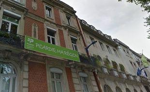 La façade du Conseil régional de Picardie, à Amiens