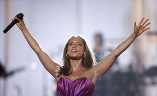 Alicia Keys, juin 2010