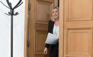 Marine Le Pen est la présidente du RN (ex-FN) depuis 2011. (archives)