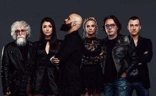 Le groupe Sanja Ilić & Balkanika, candidat de la Serbie à l'Eurovision 2018.