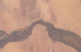 Crue du Nil au Soudan.