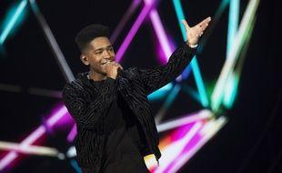 Lisandro Cuxi, lors de la première demi-finale de «Destination Eurovision».