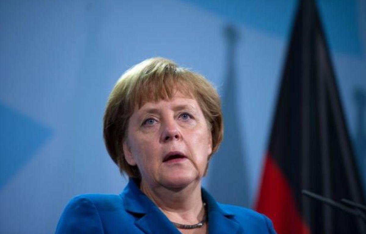 Les principaux partis d'opposition allemands ont annoncé jeudi un accord avec le gouvernement d'Angela Merkel qui ouvre la voie à la ratification parlementaire du pacte budgétaire européen et du mécanisme de secours MES, prévue le 29 juin. – Johannes Eisele afp.com