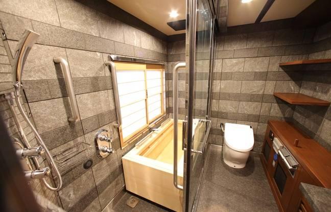 Le Shiki-Shima dispose également de salles de bain luxueuses.