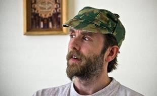 Photo prise en 2009 de KristianVikernes, dit Varg, arrêté enCorrèze le 16juillet 2013.
