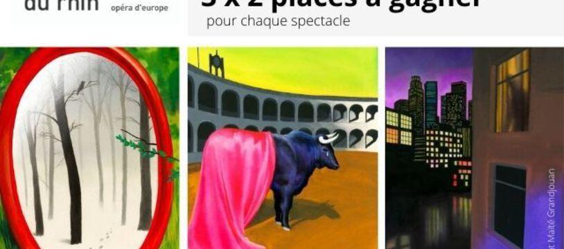 Jeu concours Opéra national du Rhin