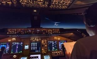 Illustration d'un cockpit