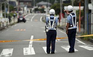 Un homme a tué au moins 19 personnes centre pour handicapés de Sagamihara, près de Tokyo, le 26 juillet 2016.