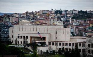 Le consulat américain à Istanbul en Turquie, le 9 décembre 2015.
