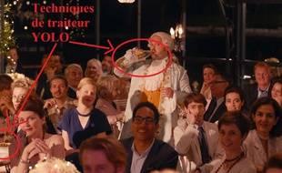 Dans le film «Le sens de la fête», le traiteur a ses petits stratagèmes pour couper la faim des invités.