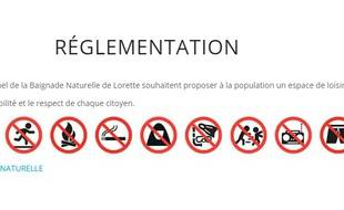 Le réglement du site du plan de Lorette, dans la Loire, interdit l'accès aux femmes voilées