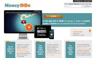 Moneydoc organise vos différentes factures et fait vos comptes.