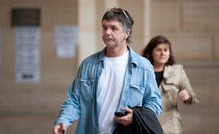 Stéphane Colonna au tribunal de Paris en 2009 lors du procès de son frère Yvan Colonna.