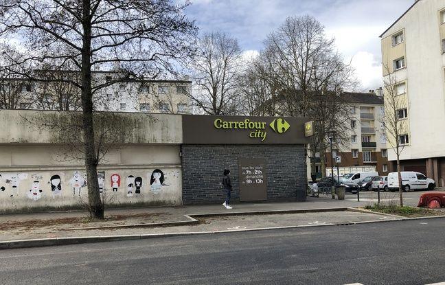 Des coups de feu ont été tirés dans le quartier de Cleunay, à Rennes, le 17 mars 2021, blessant grièvement un jeune homme.