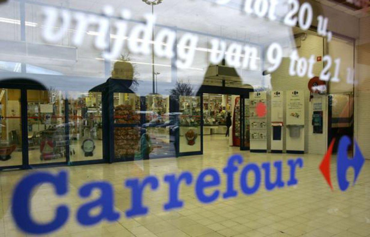 Un magasin Carrefour. – Yves Logghe/AP/SIPA
