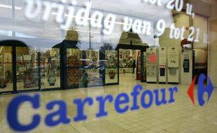 Un magasin Carrefour.