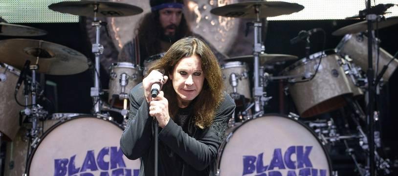 Le chanteur Ozzy Osbourne