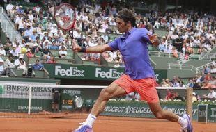 Roger Federer à Roland-Garros en 2015