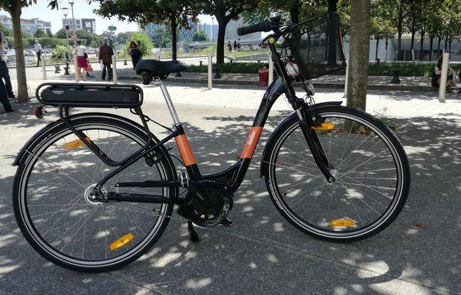 Le nouveau vélo à assistance électrique «Mon Bicloo».