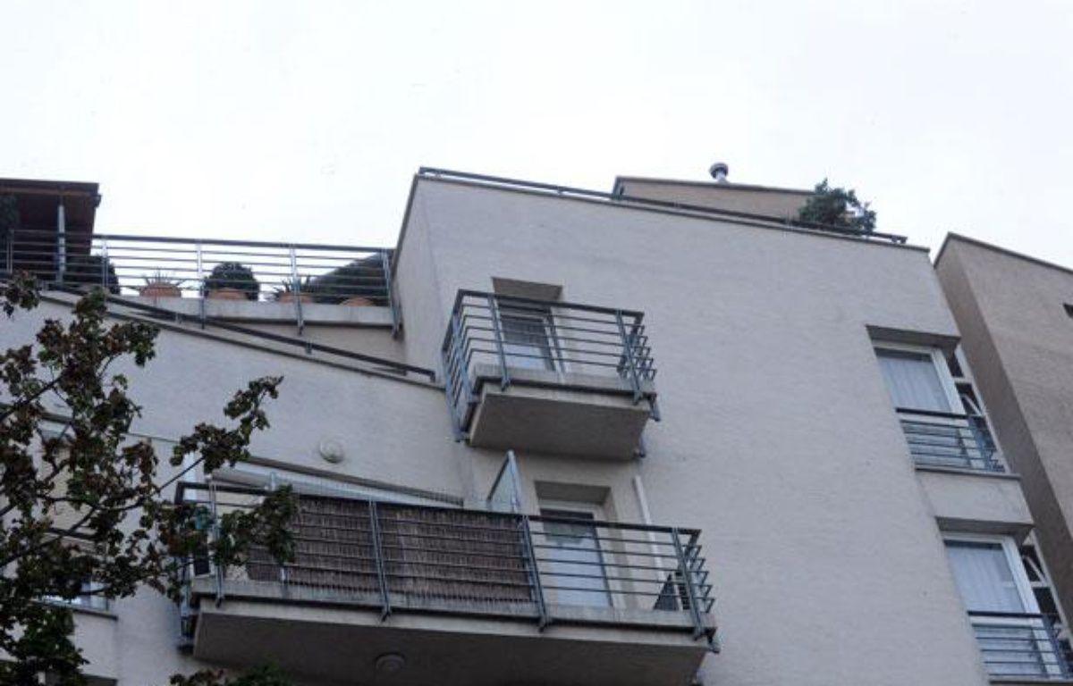 Photo prise le 16 juillet 2012 du balcon de Laszlo Csatary à Budapest, en Hongrie. – A. KISBENEDEK/AFP PHOTO