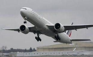 Un Boeing 777 300-ER de la compagnie Air France, le 10 avril 2009.