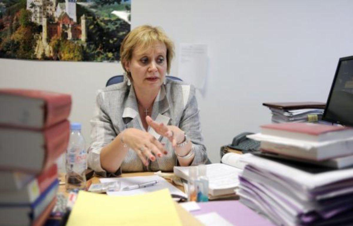 Mme Prévost-Desprez s'était saisie d'un supplément d'information après avoir renvoyé le procès pour abus de faiblesse visant M. Banier sine die le 1er juillet, à la suite de la publication des enregistrements clandestins réalisés au domicile de la milliardaire. – Fred Dufour AFP/Archives