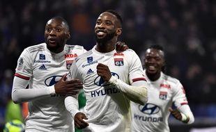 Moussa Dembélé a inscrit les deux buts de la victoire lyonnaise face à Saint-Etienne.